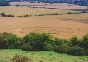Một vòng tròn trên cánh đồng Tây Nam nước Anh