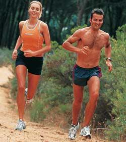 Đàn ông chạy nhanh hơn phụ nữ
