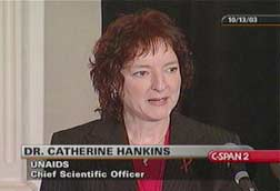 Giáo sư Catherine Hankins