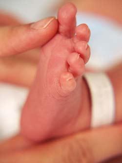 Đụng chạm là vô cùng quan trọng với em bé mới sinh. Qua sự tiếp xúc da thịt