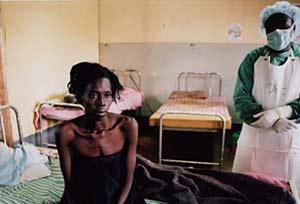 Bệnh nhân bị sốt Ebola