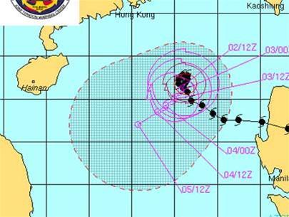 Đường đi của cơn bão Cimaron 2006