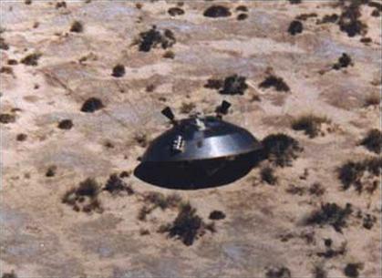Tàu thăm dò không gian của Mỹ sau một chuyến bay thử nghiệm ở New Mexico