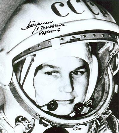 Anh hùng Phi công Vũ trụ - Valentina Tereshkova
