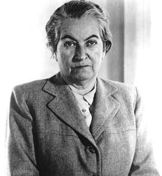 1945, Gabriela Mistral