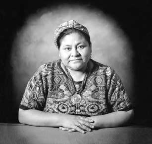 1992, Rigoberta Menchú Tum