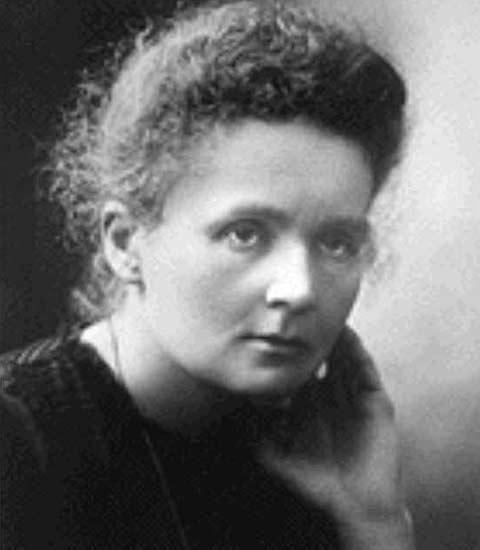 1911, Marie Curie