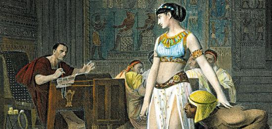Lâu nay, Cleopatra luôn được thể hiện trong hình tượng  khêu gợi như thế này