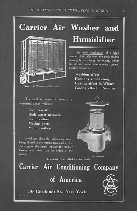 Lịch sử hình thành và phát triển của máy điều hòa