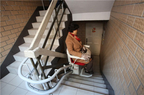 Phát minh ghế thang máy ở Thượng Hải