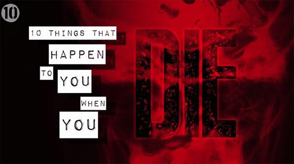10 điều tiếp tục diễn ra trên cơ thể người chết