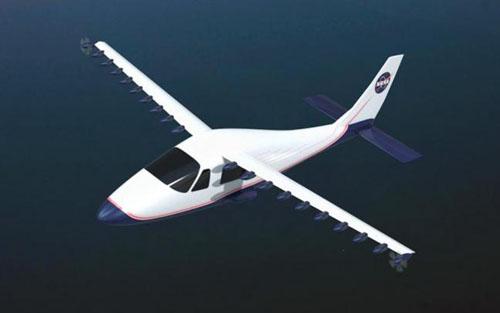 NASA chế tạo máy bay chạy bằng điện
